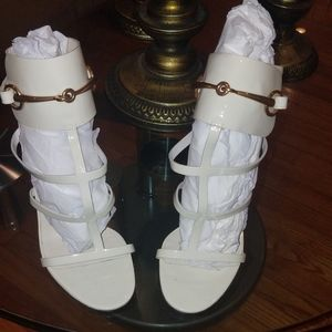 Gucci Ursula Sandals Off White